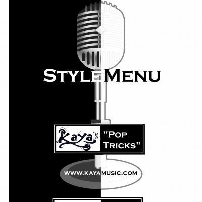 Banner style menu